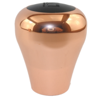 Rose Gold Electroplated