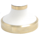 Aluminium Bronze Base + White Cone - Aluminium Bronze Spacer