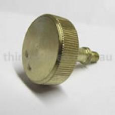 Gold knob